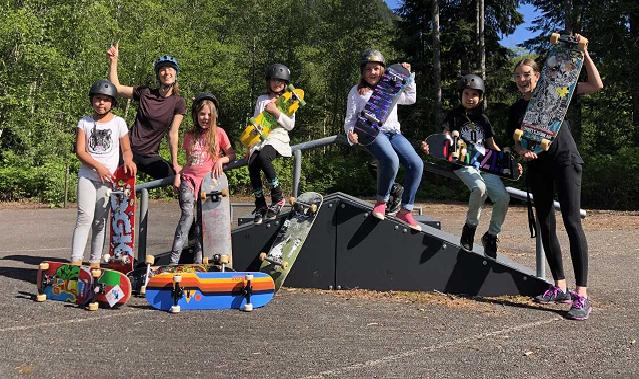 Skateboard Club - Zeballos Elementary Secondary School
